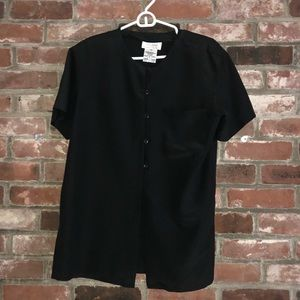 Beautiful like new Rena Rowan black blouse